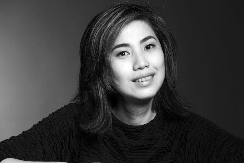 Exhibition Dialogue in Silence, Guide Trang Ngyen