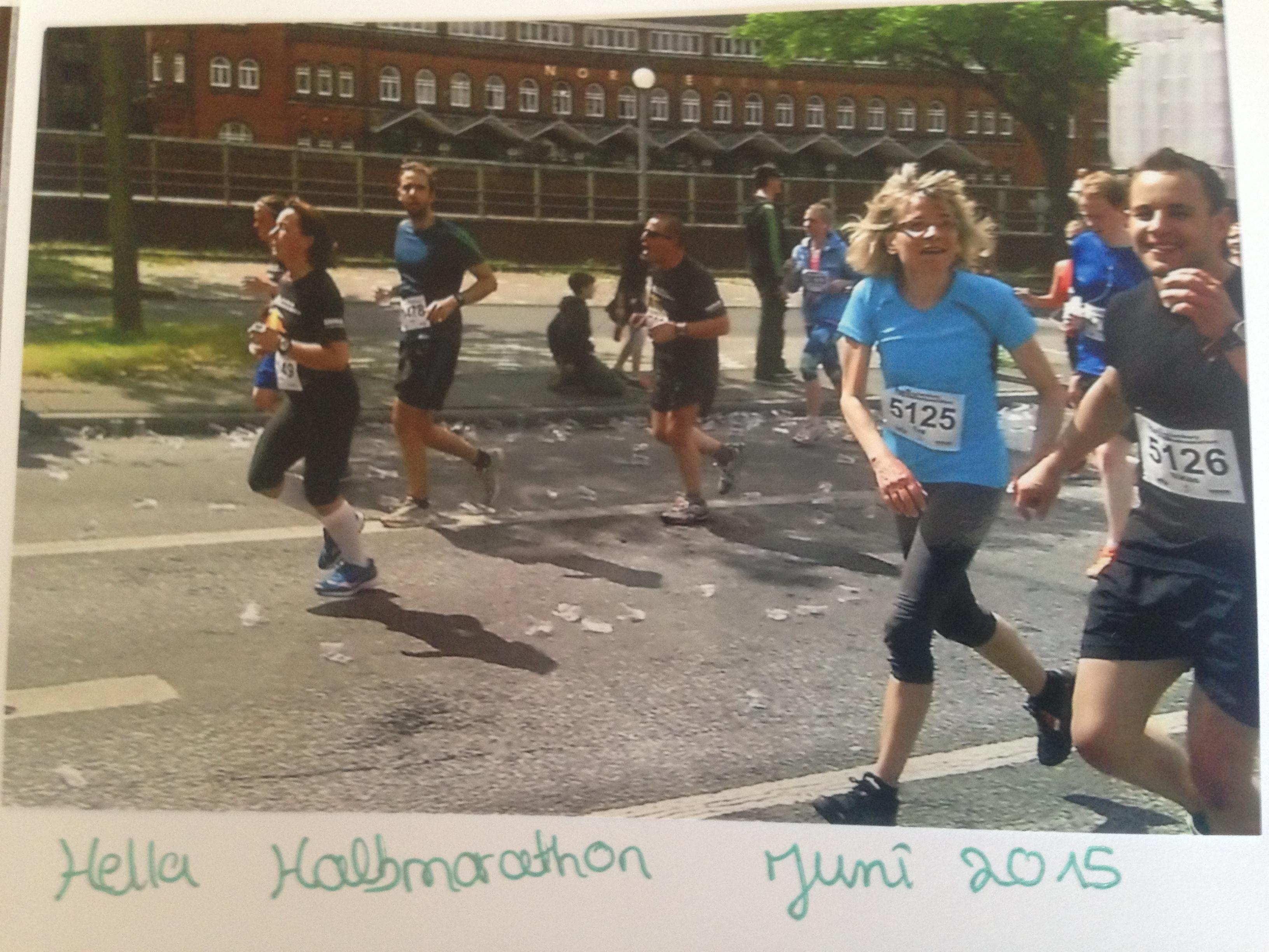 Eva, Guide Beim Dialog Im Dunkeln, Beim Marathon Laufen