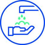Corona Piktogram Haende Waschen