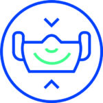 Corona Piktogram Maske Tragen